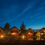 The Cabins at Night