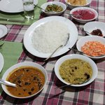 Delicious food cooked by Ganesh.
