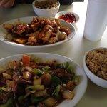 Nice portions and tasy food.