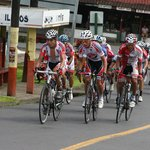 Costa Rica Cycling Race. 21st December 2013 Nicoya.