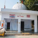 a small temple inside ramtirth temple circle.