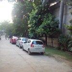 Ample Parking area