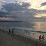 Sunset, White Sands