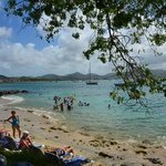 Pigeon Island's wonderful beach