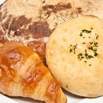 Some of our home baked breads