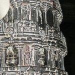 One pillar inside