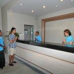 Reception whit multilingual staff, Thai, English, French, German, Dutch