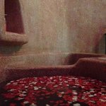 the flower bath, part of the traditional treatment