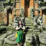 Me in front of temple gate