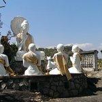 Gruppe Buddhas