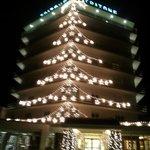 il tritone di notte l'11 01 ancora natalizio!