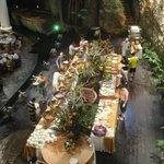 Buffet im Grotten-Restaurant