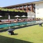 pool area, Anantara Chiang Mai