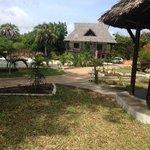 grounds, Karibu room in back