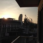 Sicht aus Balkon