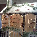 Christmas decoration in hotel