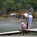 жена и внучка - в поисках Золотой Рыбки