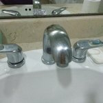 dirty faucets
