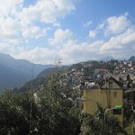 View of Sapa from room 404