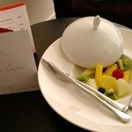 Fruta fresca en la habitación