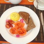 Frühstück bei Holden Manz