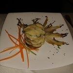medaglioni di polenta taragna