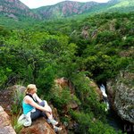 Overlooking Morning Sun Nature Reserve and the sacred Venda rockpool