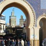 Vista minareti moschee interne