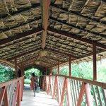il ponte sul fiume Talek