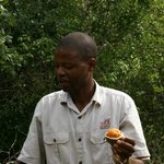 Tom, Manager Tembe Lodge en Chauffeur Game Drives
