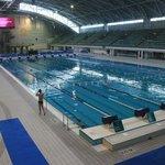 aquatic centre..le vasche di allenamento (alcune)