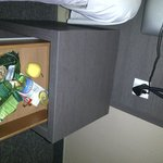 Food found in the bedside table