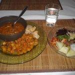 Frojas Sal Vegetarisk Restaurang Foto