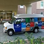 Remember, Hampton Inn and Suites offers shuttle to local companies and night life