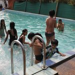 Clean and hygienic swimming pool