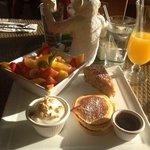 Succulent petit déjeuner