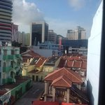 view from room 401