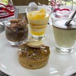 desserts of Sofitel Marrakech