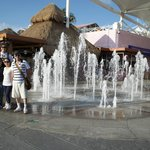 Fountain inside Plaza La Isla