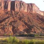 Red Cliffs, vues depuis la chambre