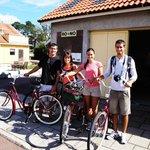 renting bikes