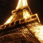Eiffel Tower (in winter)