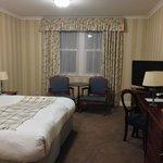 the room at the Bruntsfield