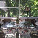 Breakfast porch