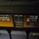 трамвай под окном
