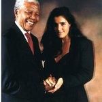 Carminda Brendel with Nelson Mandela