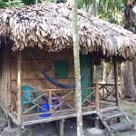 Our lovely hut :)