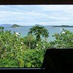 Die Aussicht aus dem Vista-Zimmer