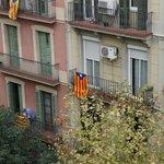 в день независимости Каталонии