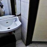 Washroom at the real